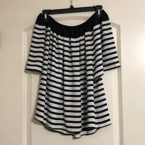 Loft striped top